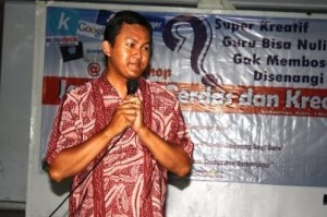 Mas Kusumo, Trainer Ice Breaker