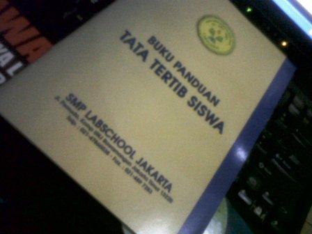 Buku Panduan Tata Tertib Siswa SMP Labschool Jakarta