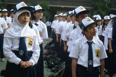 Siswa-siswi Baru Kelas 7 SMP Labschool Jakarta