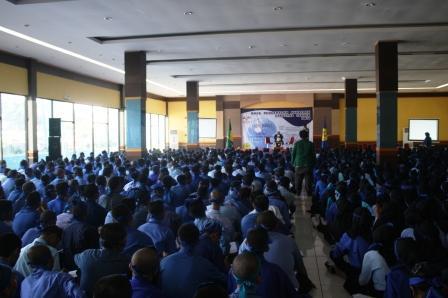 Kegiatan Masa Pengenalan Akademik FT UNJ Rawamangun Jaktim