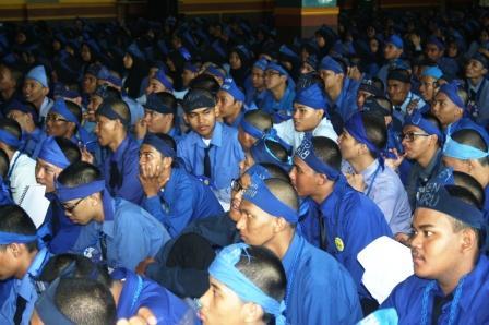 Mahasiswa Baru FT UNJ peserta MPA 2012