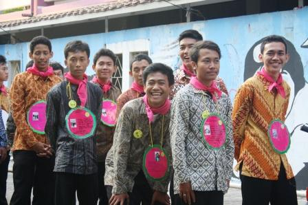 Mahasiswa baru UNJ Jurusan Akutansi di kegiatan MPA 2012
