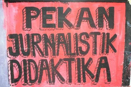 Kegiatan Pekan Jurnalistik di Kampus UNJ