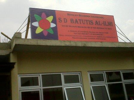 Gedung Baru SD Batutis Al Ilmi Bekasi