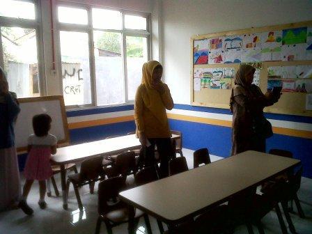 Ruang Belajar SD Batutis yang Baru