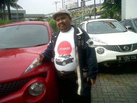 Omjay dan Mobil Nissan Juke