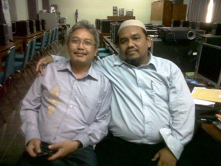 Omjay bersama Agus Hermawan