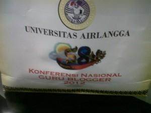 Goody Bag KGB 2012 di Unair