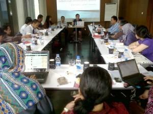 Blogger Indonesia yang hadir dalam Diskusi