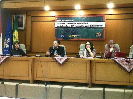 Narasumber Seminar Nasional di Kampus UNJ