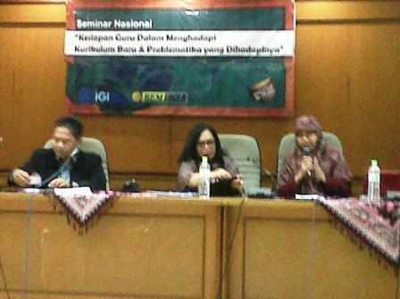 Seminar Kurikulum di Kampus UNJ