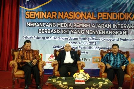 Pembicara Seminar Nasional di IGI Kalsel