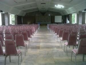 Tempat acara pembukaan pelatihan Implementasi Kurikulum 2013