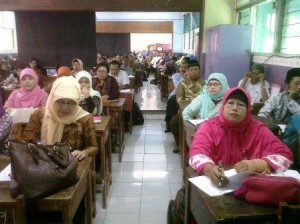 Pelatihan Kurikulum 2013 matpel Prakarya di SMPN 109 Jakarta Timur