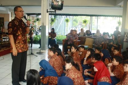 sambutan Kepala SMP Labschool Jakarta, H. Ali Chudori, M.Pd
