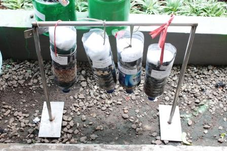 Alat Penjernih air sederhana
