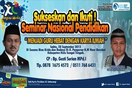 seminar nasional IGI Kalsel