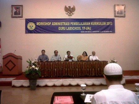 Workshop Administrasi Pembelajaran