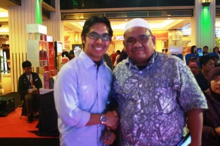 Omjay dan Ahmad Fuadi