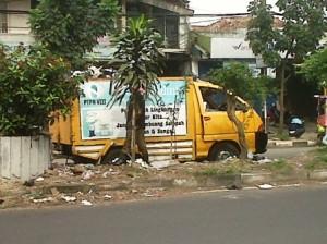 mobil dinas kebersihan
