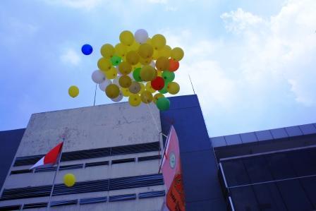 Pelepasan Balon Lari Kenangan Labschool