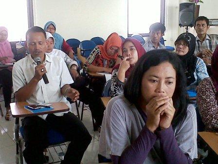 Peserta PNPM mandiri Kabupaten Bekasi di Universitas Pelita Bangsa