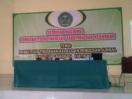 Seminar Nasional PTK di IAIN Banten