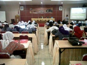 Studi Jurnalistik siswa SMP se-DKI Jakarta