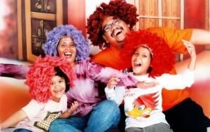 Omjay dan keluarga