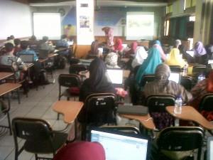 Pelatihan Blog di Al Ma'soem