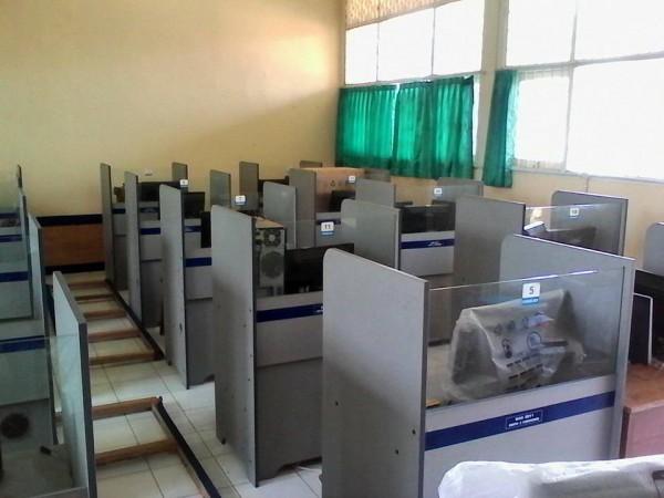 Lab komputer untuk UNBK