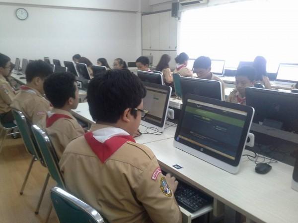 Lab komputer smp labschool jakarta