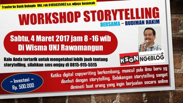 Workshop Storytelling