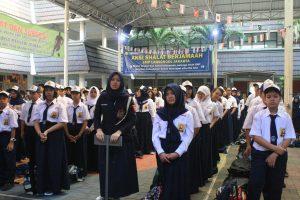 Siswa Baru kelas 7 SMP Labschool Jakarta