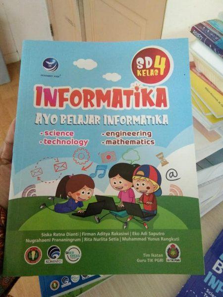 informatika, buku sd,