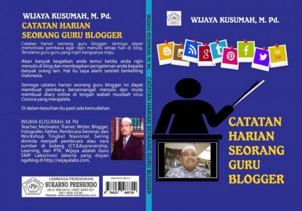 buku omjay, omjay, blogger ternama, catatan harian, blogger, pgri, ternama, buku blogger, guru menulis, belajar menulis,guru blogger,wijaya kusumah,